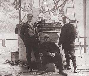 sjöofficer först till nordpolen